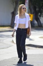 SUKI WATERHOUSE Out and About in Los Angeles 05/14/2018