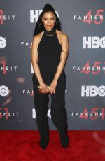 SUSAN KELECHI at Fahrenheit 451 Premiere in New York 05/08/2018