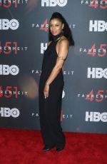 SUSAN KELECHI at Fahrenheit 451 Premiere in New York 05/08/2018