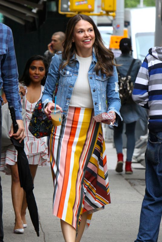 SUTTON FOSTER on the Set of Younger in New York 05/22/2018