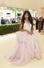 SZA at MET Gala 2018 in New York 05/07/2018