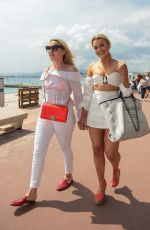 TALLIA STORM at Hotel Martinez in Cannes 05/09/2018