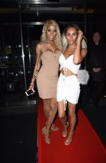 TALULAH EVE Night Out in London 05/10/2018