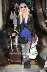 TARA REID at LAX Airport in Los Angeles 05/02/2018