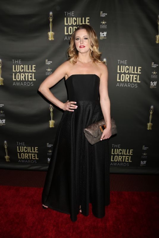 TAYLOR LOUDERMAN at 2018 Lucille Lortel Awards in New York 05/06/2018