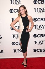TAYLOR LOUDERMAN at Tony Awards Nominees Photocall in New York 05/02/2018