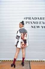 TAYLOR RUSSELL at Prada Resort: 2019 Show in New York 05/04/2018