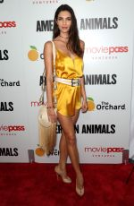 TERESA MOORE at American Animals Premiere in New York