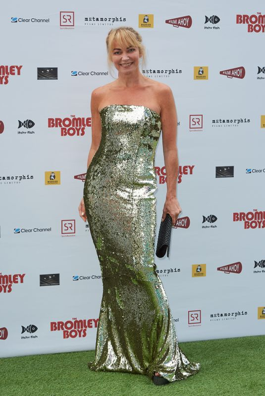 TERRI DWYER at Bromley Boys Premiere in London 05/24/2018