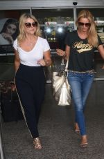 TESS DALY Arrives at Nice Airport 05/11/2018