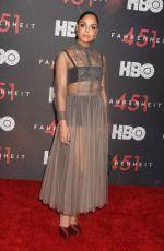 TESSA THOMPSON at Fahrenheit 451 Premiere in New York 05/08/2018