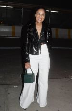 TESSA THOMPSON Out in New York 05/11/2018