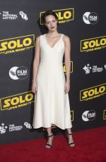THANDIE NEWTON and PHOEBE WALLER-BRIDGE at Solo: A Star Wars Story Premiere in London 05/23/2018