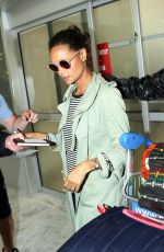THANDIE NEWTON Arrives at Nice Airport 05/14/2018