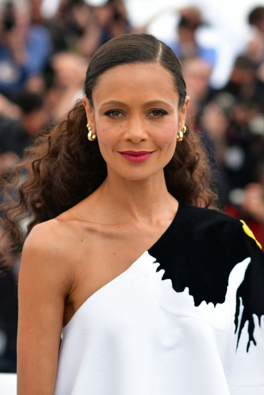 THANDIE NEWTON at Solo: A Star Wars Story Photocall at 71st Annual Cannes Film Festival 05/15/2018