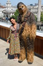 THANDIE NEWTON at Solo: A Star Wars Story Photocall in London 05/18/2018