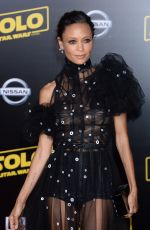 THANDIE NEWTON at Solo: A Star Wars Story Premiere in Los Angeles 05/10/2018