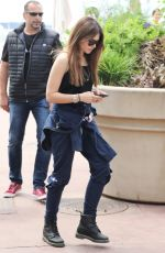 THYLANE BLONDEAU at Hotel Martinez in Cannes 05/09/2018
