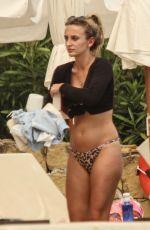 TIFFANY WATSON in Bikini at a Pool in Marbella 05/08/2018