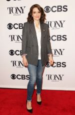 TINA FEY at Tony Awards Nominees Photocall in New York 05/02/2018