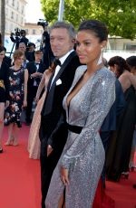 TINA KUNAKEY at Girls of the Sun Premiere at Cannes Film Festival 05/12/2018