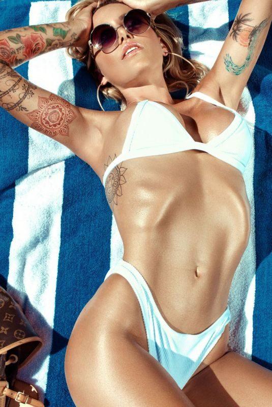 TINA LOUISE in Inked Girls Magazine