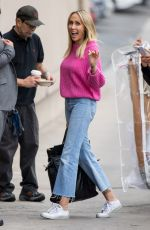 TISH CYRUS at Jimmy Kimmel Live in Los Angeles 05/01/2018