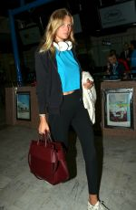 TONI GARRN Arrives at Nice Airport 05/14/2018