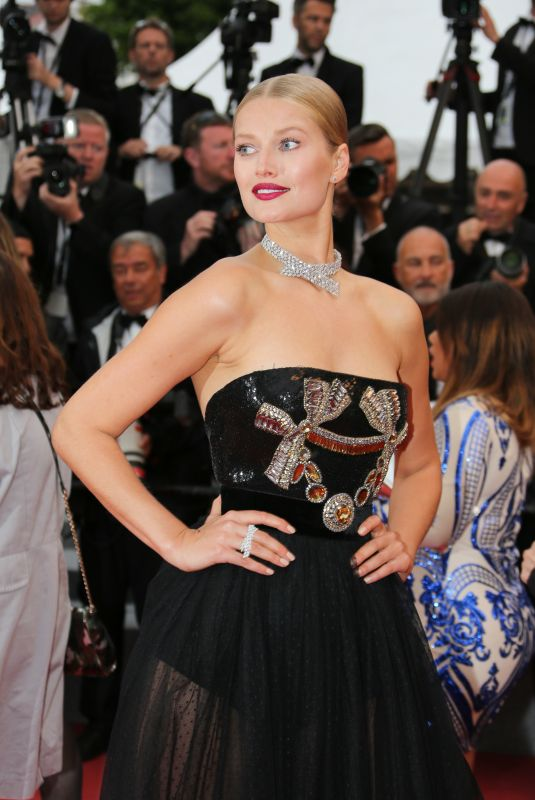 TONI GARRN at Burning Premiere at 71st Annual Cannes Film Festival 05/16/2018