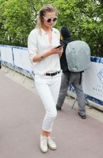 TONI GARRN Out and About in Cannes 05/16/2018
