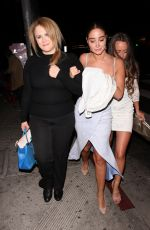 TULISA CONTOSTAVLOS at The Abbey in West Hollywood 05/26/2018
