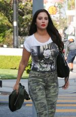 TULISA CONTOSTAVLOS Heading to Recording Studio in Los Angeles 05/25/2018