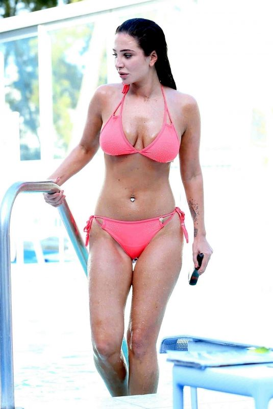 TULISA CONTOSTAVLOS in Bikini at a Pool in Los Angeles 05/24/2018