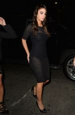 TULISA CONTOSTAVLOS Night Out in West Hollywood 05/22/2018