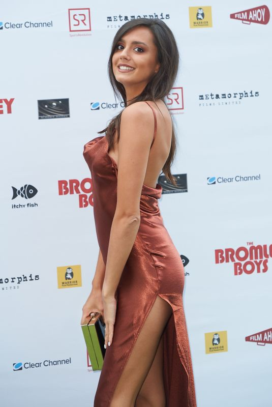 TYLA CARR at Bromley Boys Premiere in London 05/24/2018