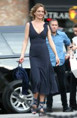 UMA THURMAN at Roxy Hotel in New York 05/03/2018