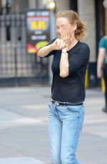 UMA THURMAN in Jeans Out in New York 05/15/2018