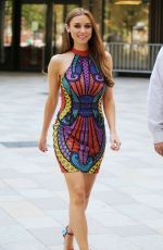 UNA HEALY at ITV Studio in London 05/15/2018