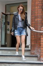 UNA HEALY Leaves Bayswater in London 05/15/2018