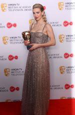 VANESSA KIRBY at Bafta TV Awards in London 05/13/2018