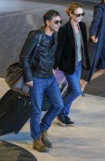 VANESSA PARADIS Arrives in Paris 05/04/2018