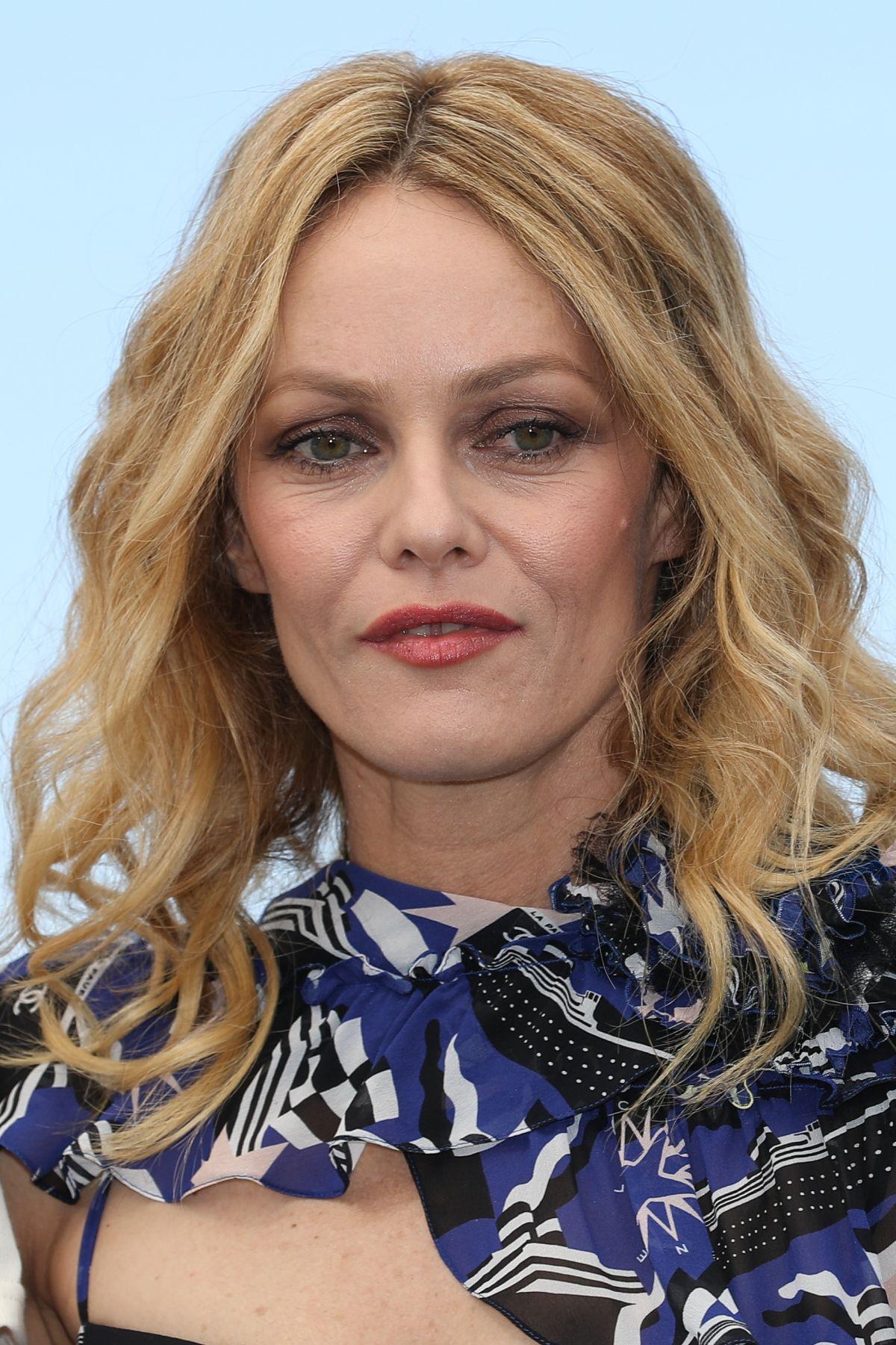 VANESSA PARADIS at Knife + Heart Photocall at Cannes Film ... Vanessa Paradis
