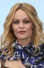VANESSA PARADIS at Knife + Heart Photocall at Cannes Film Festival 05/18/2018