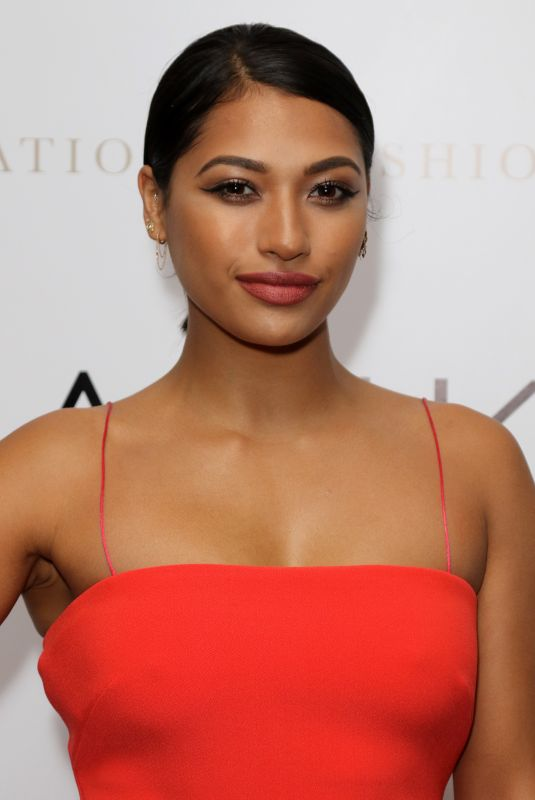 VANESSA WHITE at International Fashion Show in London 05/25/2018