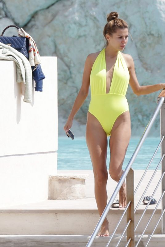 VICTORIA BONYA in Swimsuit at Hotel Du Cap Eden-roc in Antibes 05/09/2018