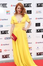 VICTORIA BROOM at LGBT Awards 2018 in London 05/11/2018
