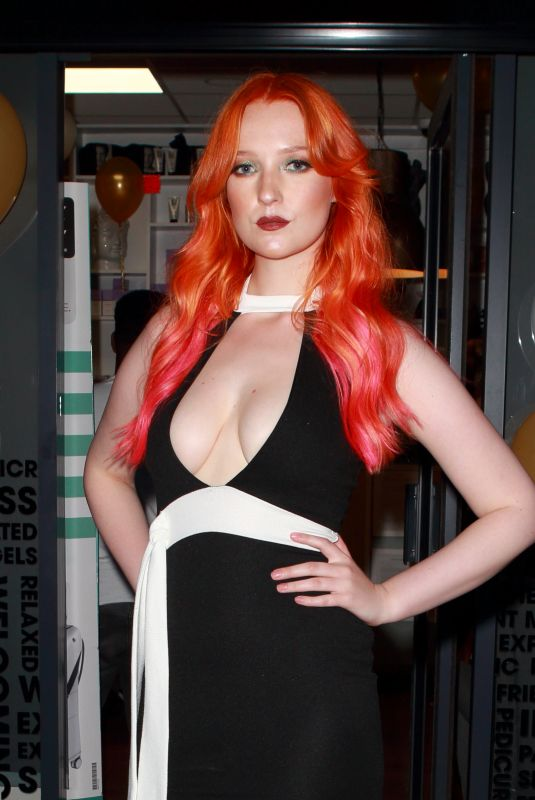 VICTORIA CLAY at Lab Salon Party in Sidcup Kent 05/21/2018