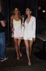 VICTORIA JUSTICE and MADISON REED at Revolve Around the World Party in London 05/30/2018