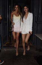 VICTORIA JUSTICE and MADISON REED Out in London 05/30/2018