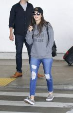VICTORIA JUSTICE at Los Angeles International Airport 04/30/2018